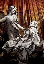 Ecstasy of St. Teresa by Gianlorenzo Bernini   (Permission by Mark Harden; http://www.artchive.com)